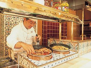 オープンキッチン(パスタ)